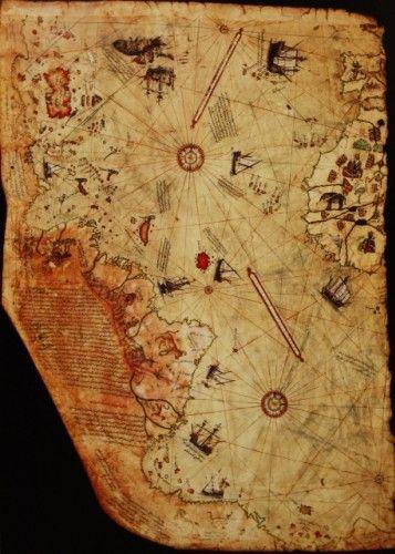 Piri Reis'in 400 yıllık Haritası