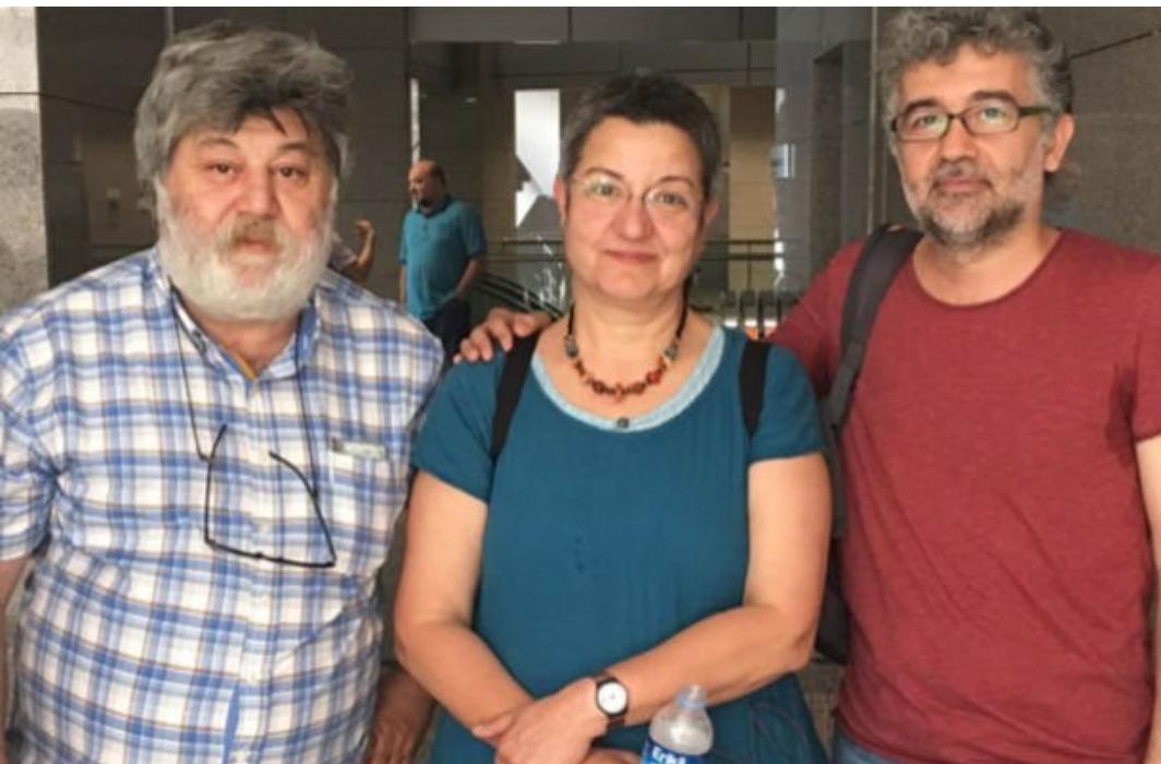 Şebnem Korur, Ahmet Nesin ve gazeteci Erol Önderoğlu'nun 7.5 yıl hapsi istendi