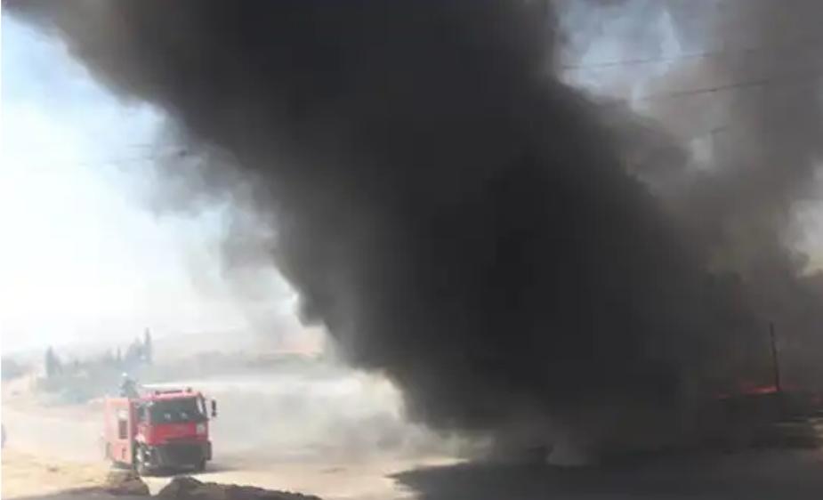 Son dakika: İdlib'e hava saldırısı! İşte ilk fotoğraflar...