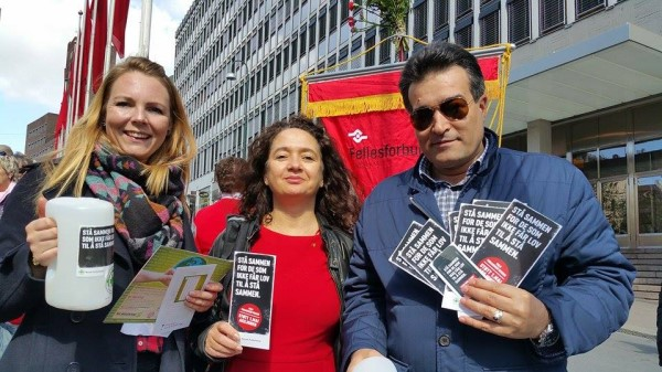 Norsk Folkehjelp sitt tema for 1.mai er i år «Folk forandrer verden», og i år er fokuset på organisasjonsfrihet og ytringsfrihet.